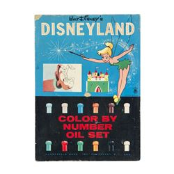 Disneyland Color by Number Oil Set.