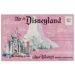 """This is Disneyland"" Souvenir Gift Mailer."