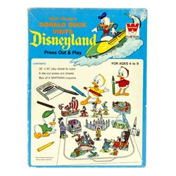 """Donald Duck Visits Disneyland"" Activity Kit."