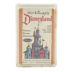 Disneyland Card Game.