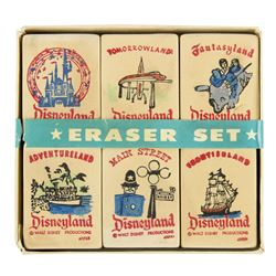 Disneyland Boxed Eraser Set.