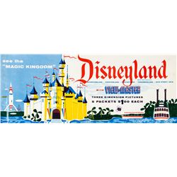 Disneyland View-Master Poster.