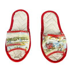 Pair of Disneyland Attraction Slippers.