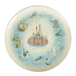 Disneyland Souvenir Plate.