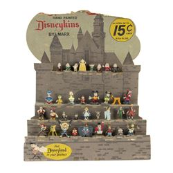 First Series Disneykins Store Display.
