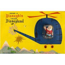 Set of Three Disneykin Postcards.