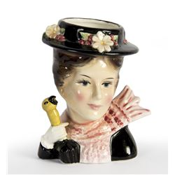 "Enesco ""Mary Poppins"" Ceramic Flower Vase."