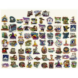 Collection of (73) Disneyland Pins.