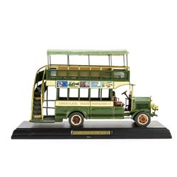 Disneyland Main Street Omnibus Replica.