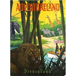"Adventureland ""Near-Attraction"" Poster."