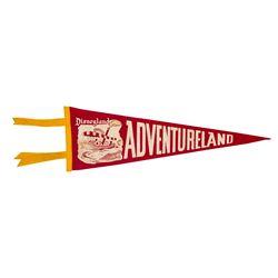 Adventureland Concept Art Pennant.