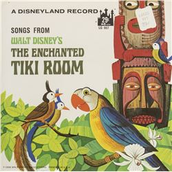 """Enchanted Tiki Room"" 45 Rpm Record."