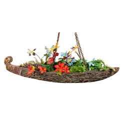 """Enchanted Tiki Room"" Flower Boat."