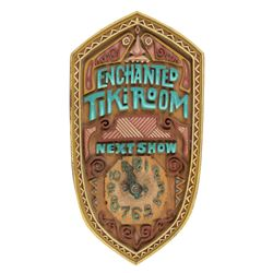 "Tiki Room ""Next Show"" Sign Prop."