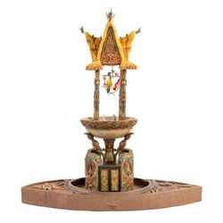 """Enchanted Tiki Room"" Fountain Limited Edition."