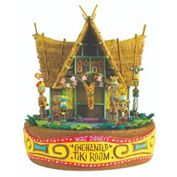 """Enchanted Tiki Room"" Magical Big Figurine."