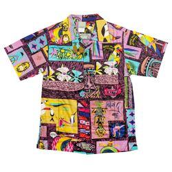 Enchanted Tiki Room Limited Edition Purple Shirt.