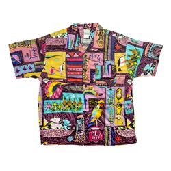 Enchanted Tiki Room Limited Edition Purple Shirt.