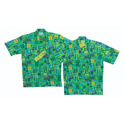 Pair of Tangaroa Aloha Limited Edition Shirts by Shag.