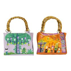 """Tiki Room"" 40th Anniversary Handbag & Purse by Shag."