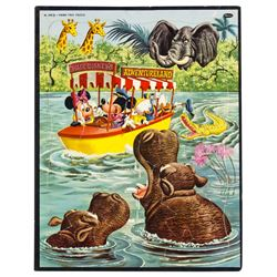 """Jungle Cruise"" Frame Tray Puzzle."