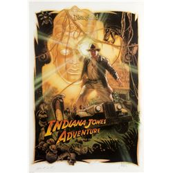 "Multi-Signed ""Indiana Jones"" Artist's Proof Poster."