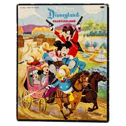 Frontierland Frame Tray Puzzle.