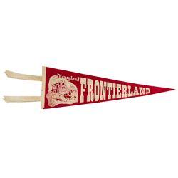 Frontierland Concept Art Pennant.