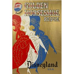 """Golden Horseshoe Revue"" Attraction Poster."