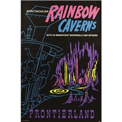 """Rainbow Caverns"" Attraction Poster."