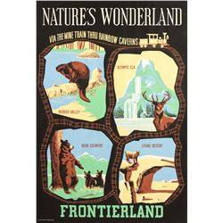 """Nature's Wonderland"" Attraction Poster."