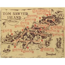 Tom Sawyer Island Map.