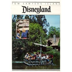 """Tom Sawyer Island"" Travel Poster."