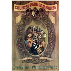"""Country Bear Jamboree"" Attraction Poster."