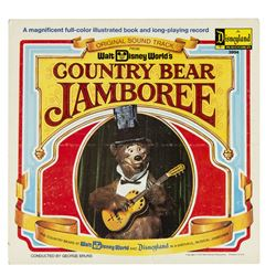 """Country Bear Jamboree"" Book and Record."