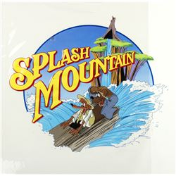 "Original ""Splash Mountain"" Pre-Opening Painting."