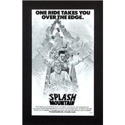 "Original ""Splash Mountain"" Promotional Artwork."