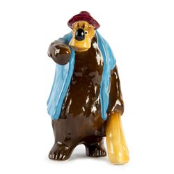 Br'er Bear Ceramic Figure.