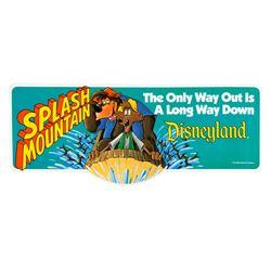 """Splash Mountain"" Promotional Sticker."