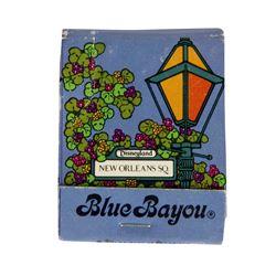 """Blue Bayou"" Matchbook."