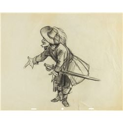 "Original Marc Davis ""Pirates of the Caribbean"" Drawing."