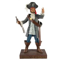 """Pirates of the Caribbean"" Auctioneer Figurine."