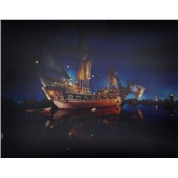 """Pirates of the Caribbean"" Lenticular Photograph."