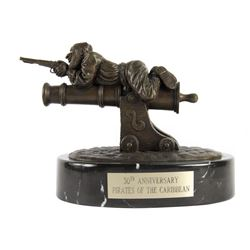 """Pirates of the Caribbean"" 30th Anniversary Bronze."