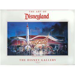 """""""The Art of Disneyland"""" Disney Gallery Exhibit Poster."""