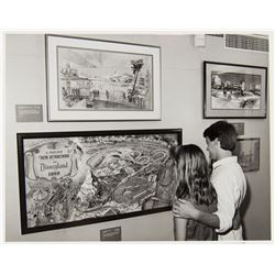 """The Disney Gallery"" Opening Publicity Photo."