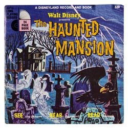 """Haunted Mansion"" Record and Book."