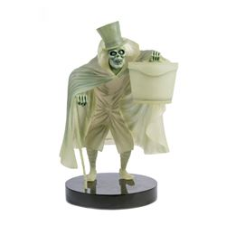 """Haunted Mansion"" Hatbox Ghost Light-Up Figurine."