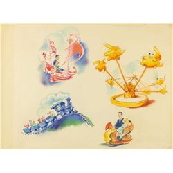 Original Disneyland Promotional Artwork.