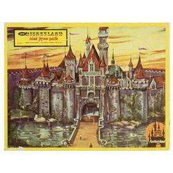 """Sleeping Beauty Castle"" Frame Tray Puzzle."